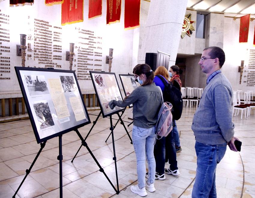 На выставке в музее-панораме «Сталинградская битва» можно увидеть материалы из архива Управления ФСБ